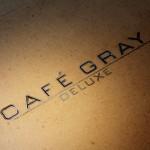 Café Gray Deluxe in Hong Kong