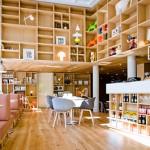 Flinders café in Amsterdam