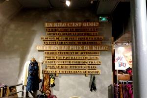 Kilo Shop in Parijs