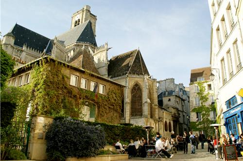 Le Marais in Parijs