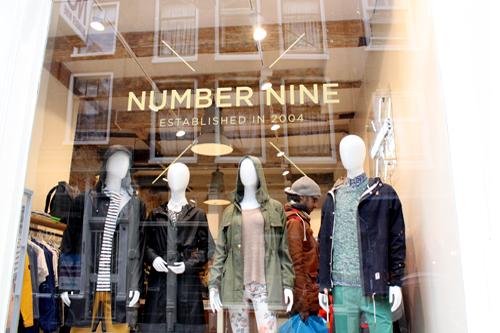 Number Nine in Amsterdam