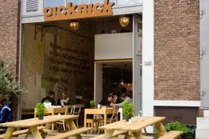 Picknick in Rotterdam