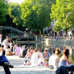 Canal Saint-Martin in Paris