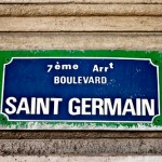Saint Germain in Paris